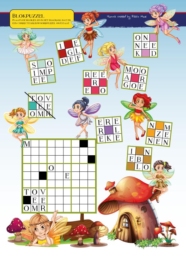 Puzzel - Kinder Puzzel Magazine herfst editie 2016